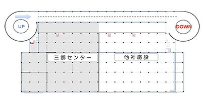 GLP三郷Ⅲ2F平面図